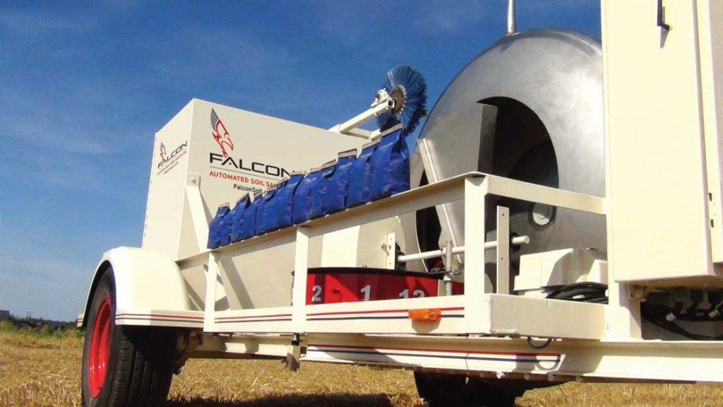 The Falcon Automated Soil Sampler